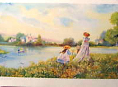 3-victorian-prints-by-m-wyatt-women-lakeside-stroll
