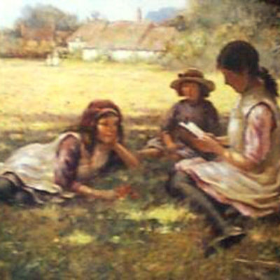 a-summers-day-by-william-blacklock-children