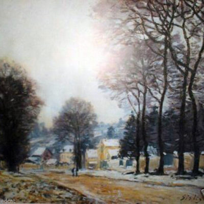 alfred-sisley-schnee-in-louveciennes