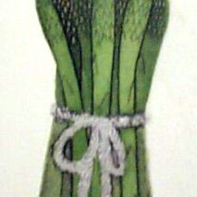 asparagus-by-freeman-handcolored-etching