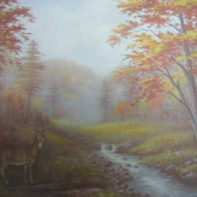 autum-stream-images-of-3-by-ron-cambell-signed-and-numbered