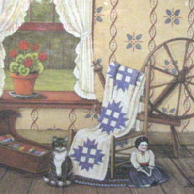 cat-and-doll-by-wilma-vincent-cat-doll-and-quilt-on-print