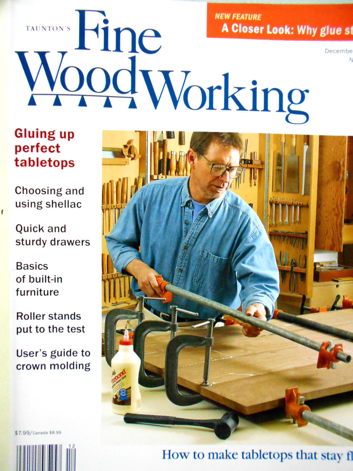 Fine Woodworking Magazine Nr 166 December 2003 Emery S Fine Art