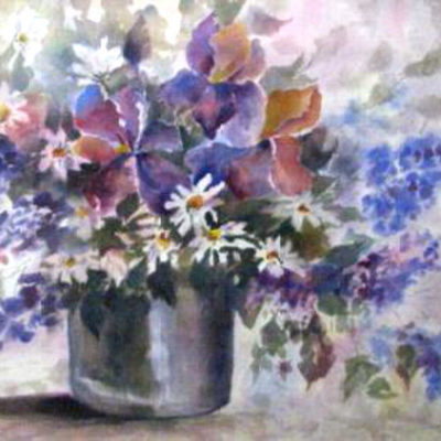 floral-with-bucket-by-helen-emery-watercolor
