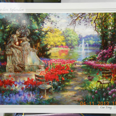 garden-splendor-by-cao-yong-post-card