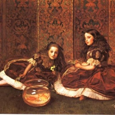 leisure-hours-by-john-everett-millais