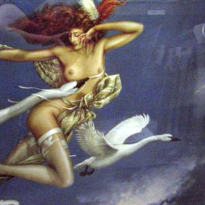 night-flight-by-parkes-nude-woman-swans-fantasy