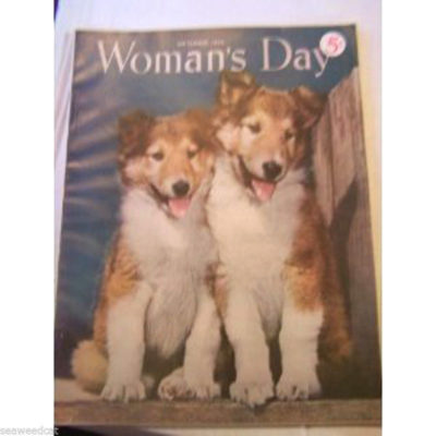 september-1950-womans-day-cover-page-2-collie-puppies