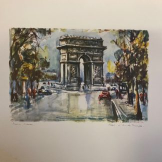 l'arc de triorphe - paris